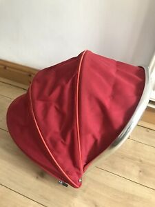Icandy Peah Mainseat/ Carry Cot Hood In red Colour