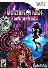 WII U MONSTER HIGH NEW GHOUL IN SCHOOL BRAND NEW VIDEO GAME