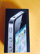 Apple iPhone 4s Originalverpackung OVP Karton  Leerverpackung  schwarz