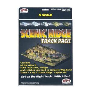 Atlas  N Code 80 Scenic Ridge Track Pack  ATL2588