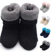 Women Boots Slippers Home Flat Socks Boots Indoor Warm Slippers Booties