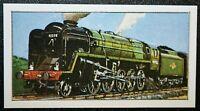 BRITISH RAILWAYS  Class 9  2-10-0  Steam Locomotive  Illustrated Colour Card