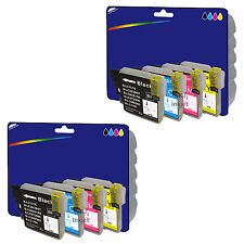 Any 8 non-OEM LC985 Ink for Brother DCP-J125 DCP-J140W DCP-J315W DCP-J515W