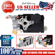Door Lock Actuator Integrated Latch Driver Side For Chevy Silverado GMC Sierra