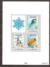 Yemen - 1983 - Mi. Blok 19 onbedrukt (Olympische spelen) - Postfris - R0322