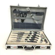 Berghaus 12 pc Variety Knife & Scissors Set w/ Case NEW #404
