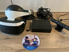 SONY PLAYSTATION VR HEADSET - CUH-ZVR2 WITH PSVR CAMERA WITH BLOOD & TRUTH GAME