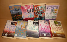 9 in a row JOHN COFFIN Gwendoline Butler lot Coffin Underground, Paper Man,