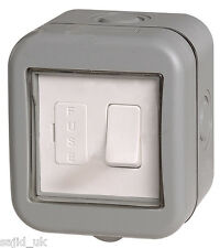 BG Weatherproof IP55 1 Gang Switched Fused Spur Connection Unit - FREE P&P