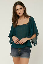 O'Neill Talei Top - Women's - X-Small, Deep Teal