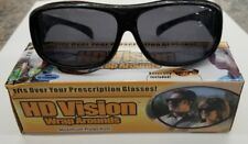 HD Day Vision  Wraparound Sunglasses Fits Over Glasses As Seen On TV