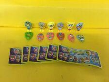Komplettsatz Spongebob Mexiko SE326 -SE326B SE329 SE329A SE330 mit BPZ