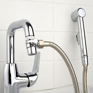 Waschbeckendusche Mobile Handbrause Duschschlauch Brause Wasserhahn Umschalter