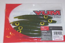 "Yum 4.75"" Swurm Worms (Watermelon Seed-7/pack)"
