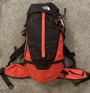North Face Steep Series Forecaster 35 Hiking Backpack Flare Orange Black L/XL