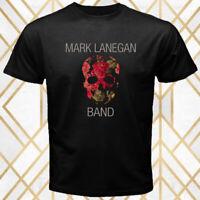 Mark Lanegan Rock Band Album Logo Men's Black T-Shirt Size S - 3XL