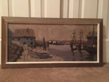 B. Whittingham Oil Painting On Canvas Signed Listed Provincetown Artist Nautical