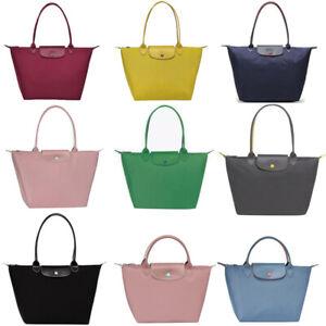 Womens New Longchamp Le Pliage Nylon Bags Tote Handbag Travel Bag Large - Small