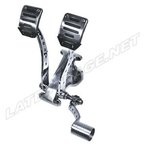 Pedal Assembly Bracket With Roller Pedal Dune Bug Buggy Sandrail Trike PAFDWRP