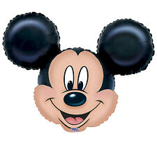 """Mickey Mouse Ears Disney Character Mylar Balloons 14"""" Foil Birthday Party 3 Pack"""