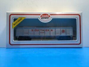 "HO Scale ""Southern Railroad"" 1246 Forty Foot Open Gondola Train w/Box 7/7"