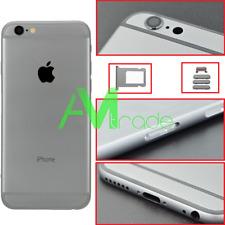 """telaio scocca posteriore per iPhone 6S 4.7"""" nero Black retro back cover frame"""