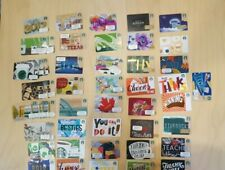 49 Starbucks Gift Cards Collectible Assortment (41 different) New With No Value