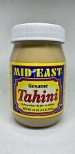 MIDEAST Tahini - Sesame Paste - NO ADDITIVES - NO SALT - NO PRESERVATIVES 16 OZ