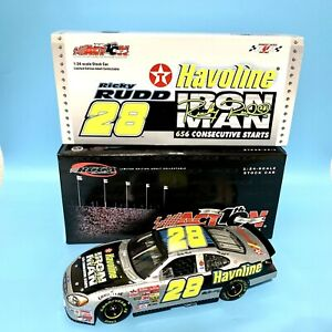 Action RCCA 2002 Ricky Rudd Havoline Ironman 1/24 1 of 720 Limited Edition Bank