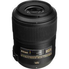 Nikon 85mm f/3.5G ED VR AF-S DX Nikkor Lens NEW +5 YEAR NIKON USA WARRANTY
