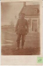 Soldat allemand guerre 14-18 photo sur CPA lot 67b
