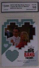 BIG BANG THEORY 2012 I THINK WE HAVE A WINNER #CPL03 DIE-CUT GEM MT10 BY GMA