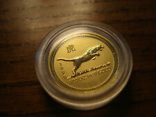 1/20 ounce Gold Tiger Australian Lunar Series I
