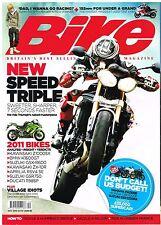 Bike Dec 2010 Speed Triple FZ8 CBF1000F GSX1250FA Multistrada KTM SMT ZX-10 FJ12