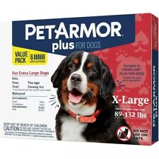 PetArmor + Flea and Tick Topical Treatment Dogs Extra Large 89 - 132 lbs 6 month