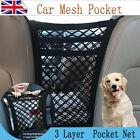 3 Layer Car Seat Hanging Storage Tidy Organiser Bag Mesh Pocket Net Nylon Holder