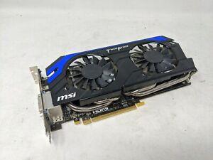 MSI N660TI 2GD5/OC TWIN FROZR 2GB Video Card / GPU, USED. Tested & Good.