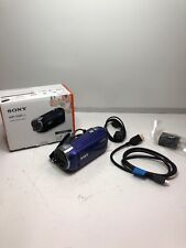 Sony HDR-CX240  Video Camera with 2.7-Inch LCD (Blue)