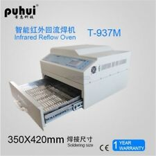 Puhui T937M Infrared Reflow Oven Solder Ic Heater 2300W T-937M Lead-Fress New ul
