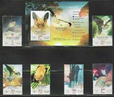 2019 Bats Murcielagos Caribbean Island Spanish Antilles Mnh + S/S Set