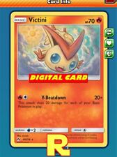 Victini Playset (4x) - for Pokemon TCG Online (DIGITAL ptcgo in Game Card)