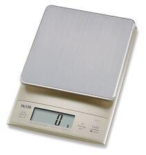 NUOVO display digitale LCD Tanita di misurazione da cucina/tipi di bilance-Argento