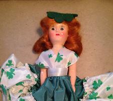 Vintage Hard Plastic Doll - Irish Colleen