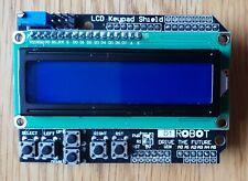 Placa de LCD 1602 Teclado Escudo Azul retroiluminación para LCD Duemilanove Robot