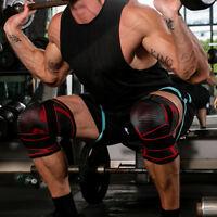 FT- 3D Pressurized Knee Pads Braces Strap Removable Knee Support Crossfit Fitnes