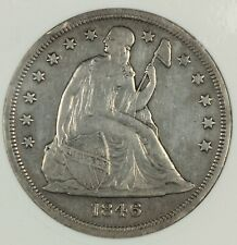 OLD ANACS XF DETAILS 1846-O SEATED LIBERTY DOLLAR $1 - 1ST BRANCH MINT DOLLAR