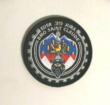 Ancien écusson police gendarmerie BMO edsr 39 Obsolète collection
