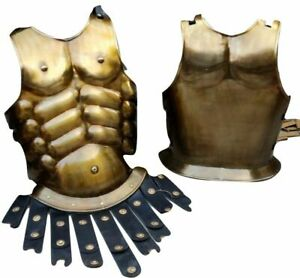 Reenanctment Wearable Costume Antique Medieval Roman Spartan Muscle Jacket gift