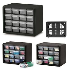 Small Parts Storage Cabinet Drawer Bin Organizer Crafts Hardware Plastic Box