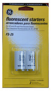 GE Lighting: 64820: GE2PK FS25 Fluo Starter